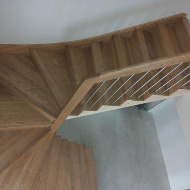 Beicuoti uosiniai laiptai