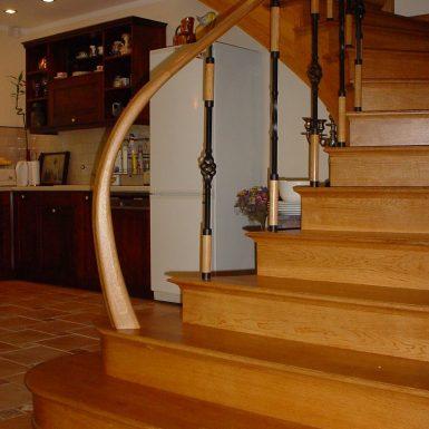 Klasikiniai laiptai Druskininai
