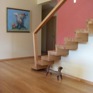 Konsoliniai laiptai Druskininkuose