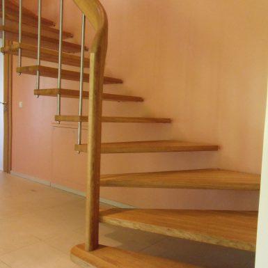 Laiptai be sijos